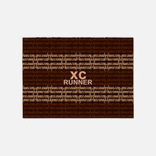 XC Runner brown 5'x7'Area Rug