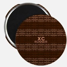 XC Runner brown Magnet