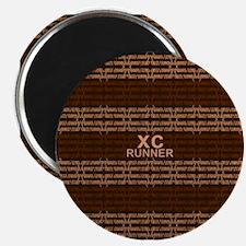 """XC Runner brown 2.25"""" Magnet (10 pack)"""