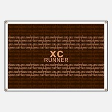 XC Runner brown Banner