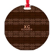 XC Runner brown Ornament