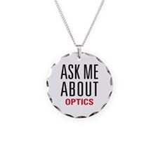 Optics - Ask Me About - Necklace