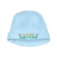 Future rugby player baby hat