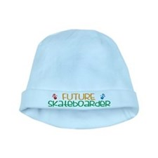 Future skateboarder baby hat