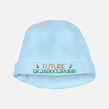 Future skateboarder baby hat