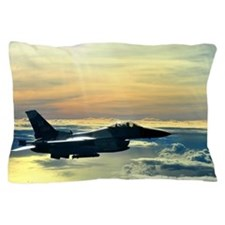 Cute Fighter jet Pillow Case