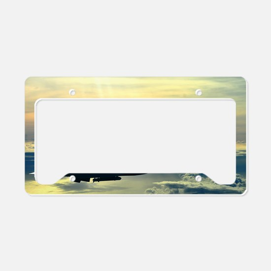 Cute Force License Plate Holder
