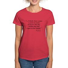 A Woman and Her Gun T-Shirt
