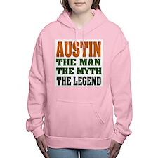 Austin The Legend Women's Hooded Sweatshirt