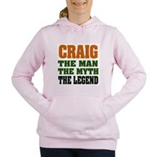 Craig The Legend Women's Hooded Sweatshirt
