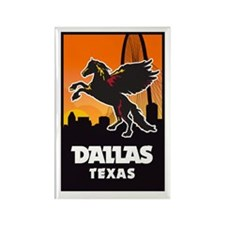 Dallas Flying Horse Magnets