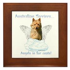 Australian Terrier Angel Framed Tile