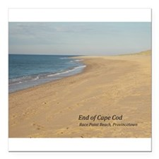 "End of the Cape Square Car Magnet 3"" x 3"""