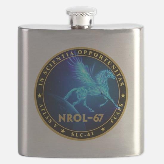 NROL-67 Program Team Flask