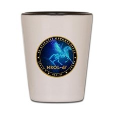 NROL-67 Program Team Shot Glass