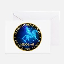NROL-67 Program Team Greeting Cards (Pk of 10)