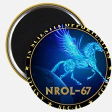 NROL-67 Program Team Magnet