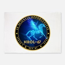 NROL-67 Program Team 5'x7'Area Rug