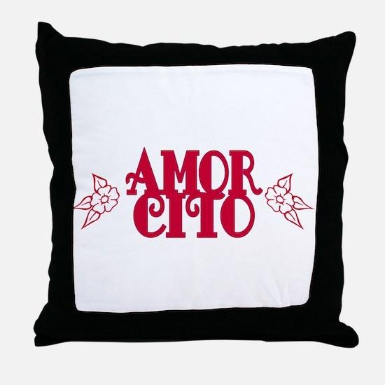 Amorcito Throw Pillow
