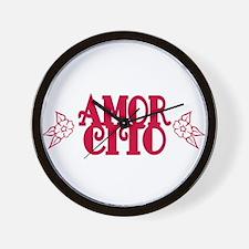 Amorcito Wall Clock