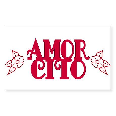 Amorcito Rectangle Sticker