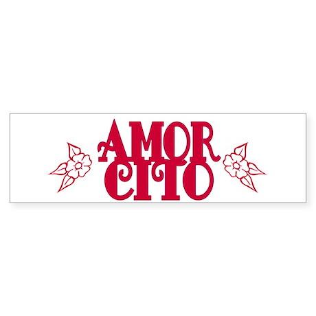 Amorcito Bumper Sticker