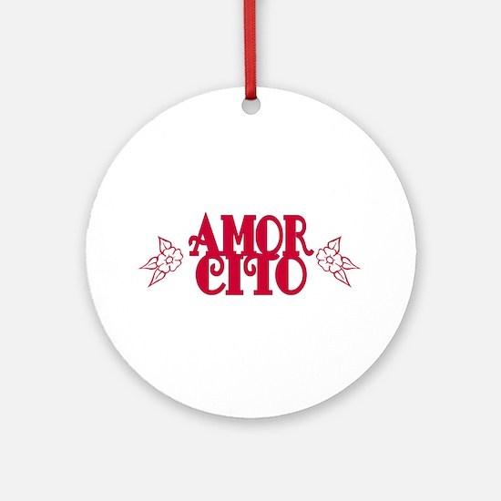 Amorcito Ornament (Round)