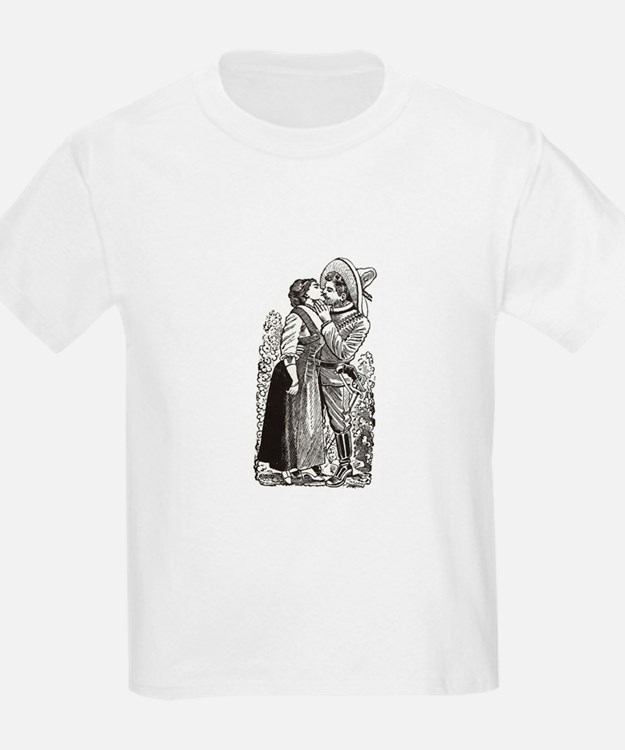 Last Kiss - Posada Woodcut T-Shirt