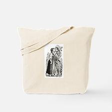 Last Kiss - Posada Woodcut Tote Bag
