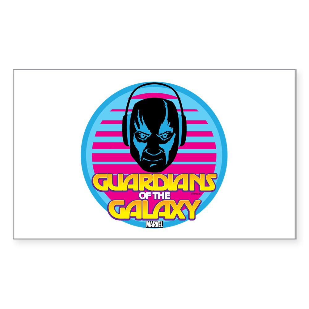 1318317574 CafePress 80S Drax Rectangle Bumper Sticker Car Decal