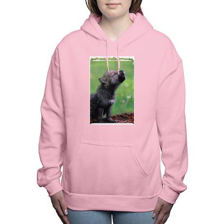 Wolf Cub Women's Hooded Sweatshirt