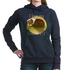 I Love my Guinea Pig Women's Hooded Sweatshirt