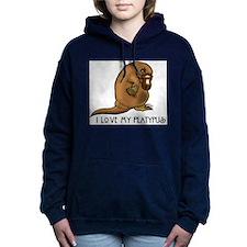 I Love my Platypus Women's Hooded Sweatshirt