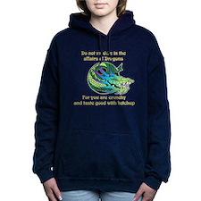 Dragon Crunchies Women's Hooded Sweatshirt
