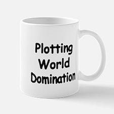 Plotting World Domination Mugs