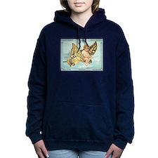 Butterfly Dream Flight Women's Hooded Sweatshirt