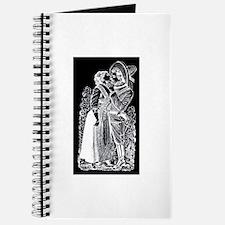 Romantic Kiss - Posada Woodcu Journal