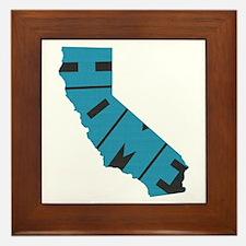 California Home Framed Tile