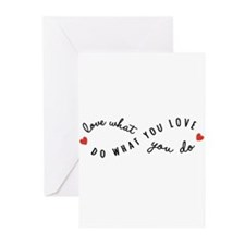 Do what you love Greeting Cards