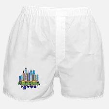 Iconic Philadelphia Boxer Shorts