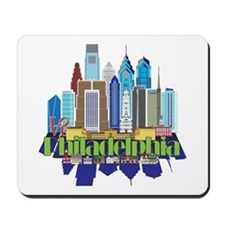Iconic Philadelphia Mousepad