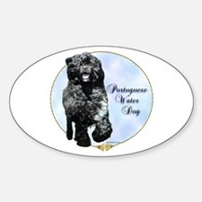 PWD Portrait Oval Decal