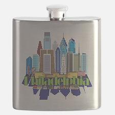 Iconic Philadelphia Flask