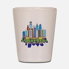 Iconic Philadelphia Shot Glass