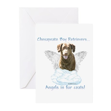 Chessie Angel Greeting Cards (Pk of 10)