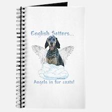 English Setter Angel Journal