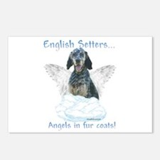 English Setter Angel Postcards (Package of 8)