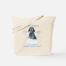 English Setter Angel Tote Bag