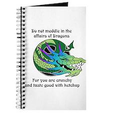 Dragon Crunchies Journal