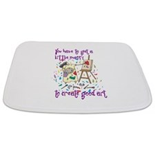You Have to Get a Little Mess Bathmat